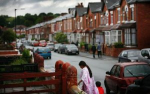 Manchester Street with Houses and People - Hampton Relocation Blog